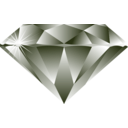 download Diamond clipart image with 180 hue color