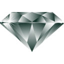 download Diamond clipart image with 270 hue color