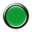 download Red Button With Internal Light Turned Off clipart image with 135 hue color