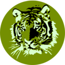 download Tigre clipart image with 45 hue color