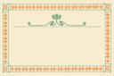 Art Nouveau Pumpkin Frame