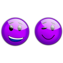 download Smiley 3 clipart image with 225 hue color
