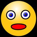 Emoticons Amazed Face