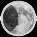 Weather Icon Half Moon