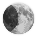 Weather Icon Half Moon