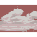 download Clouds 02 clipart image with 135 hue color