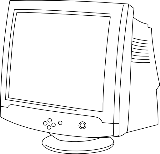 color crt monitors in computer graphics pdf