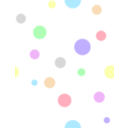 Polka Dots In Pastel Colors