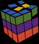 Rubik 3d Colored