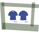 download Shirt clipart image with 45 hue color