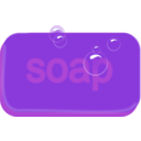 download Bar Of Soap clipart image with 225 hue color