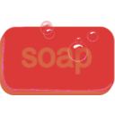 download Bar Of Soap clipart image with 315 hue color