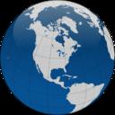 Globe With Borders