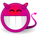 download Tango Face Devil clipart image with 315 hue color
