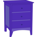 download Endtable 1 clipart image with 225 hue color