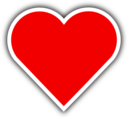 Simple Red Heart