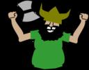 Viking Cosplayer