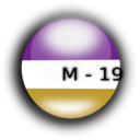 download M 19 clipart image with 45 hue color