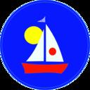 Sailboat And Sun