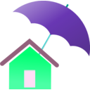 download Home Insurance clipart image with 135 hue color