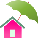 download Home Insurance clipart image with 315 hue color