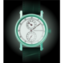 download Wristwatch 2 Regulateur clipart image with 135 hue color