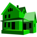 download House clipart image with 45 hue color