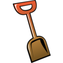 download Summer Shovel clipart image with 315 hue color