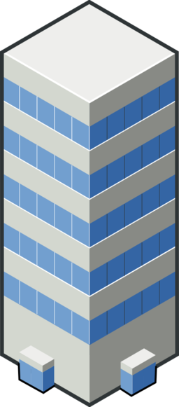 Isocity Blue Tower