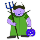 download Trick Or Treat 2 clipart image with 225 hue color