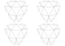 32 Net Geodesic Sphere