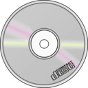 download Compact Disc clipart image with 135 hue color