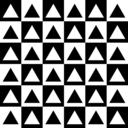 Triangles Inside Chessboard