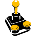 download Retro Joystick 001 clipart image with 45 hue color
