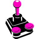 download Retro Joystick 001 clipart image with 315 hue color