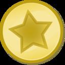 Yellow Circled Star