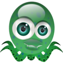 download Crazy Octopus clipart image with 45 hue color