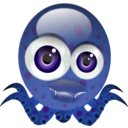 download Crazy Octopus clipart image with 135 hue color