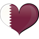 Qatar Heart Flag
