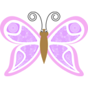 Cartoon Butterfly Kp8