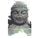 download Buddha Remixed clipart image with 45 hue color