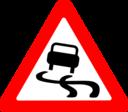 Roadsign Slippery