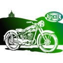 download 1950 Motorbike clipart image with 225 hue color