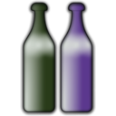 download Bottles clipart image with 225 hue color