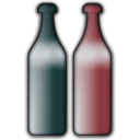 download Bottles clipart image with 315 hue color