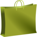 download Brown Bag clipart image with 45 hue color