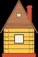 Russian Wood House