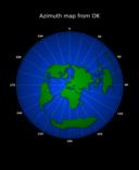 Azimuth Map