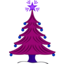 download Sapin 03 Xmas clipart image with 225 hue color