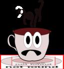Sad Hot Coffee Cup